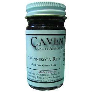 "Caven's Lures - ""Minnesota Red"" Fox Gland Lure (1 oz.)"
