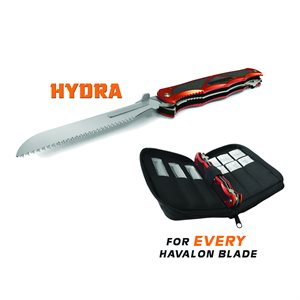 Hydra Dual Blade Folding Knife(Brick Red)