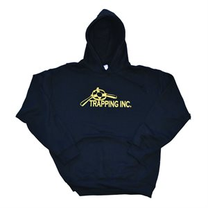 Trapping Inc. Hoodie - Black (Select Size)