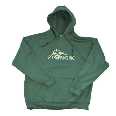 Trapping Inc. Hoodie - Green (2XL)