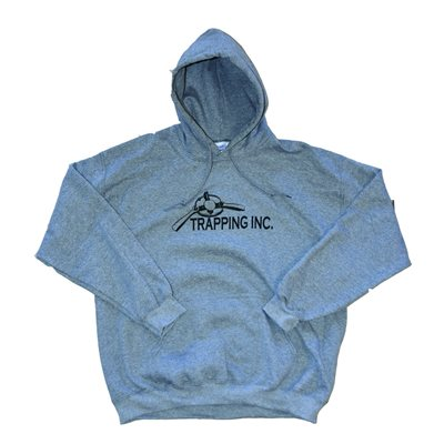 Trapping Inc. Hoodie - Grey (2XL)