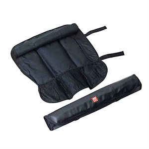 Black 7 Slot Knife Storage Roll