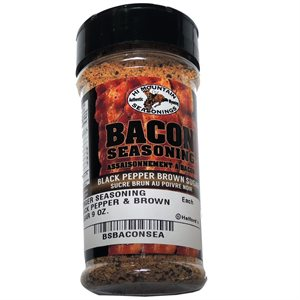 Burger Seasoning Black Pepper and Brown Sugar 9 oz