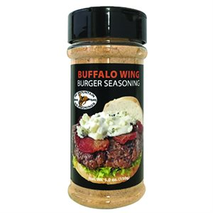 Burger Seasoning Buffalo Wing 6.3 oz Shaker