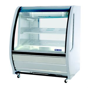 "Deli Case 39"" White"