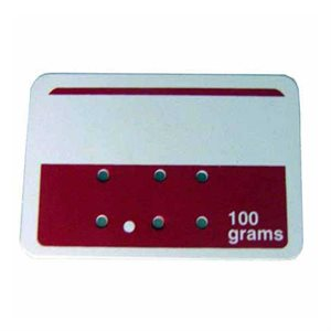 Red and White Deli Tags (100 g)