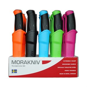 Mora of Sweden Classic Companion Series Knives (Assorted Colours)