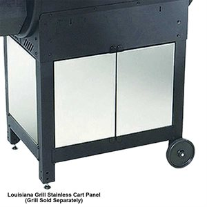 Louisiana Grills Stainless Steel Cart Panels For CS-450 Smoker