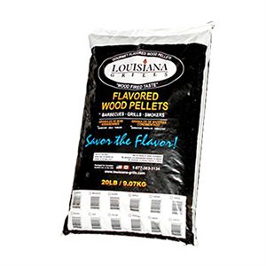 Louisiana Grills BBQ Pellets - Texas Mesquite and Maple Blend (35/65)