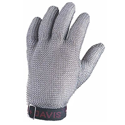 5-Finger Stainless Steel Mesh Glove (Small)
