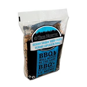 True North Smokin' Wood Chips - Hickory (900 g)