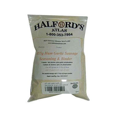 Atlas Wheat-Free Sausage Seasoning - Ham & Garlic