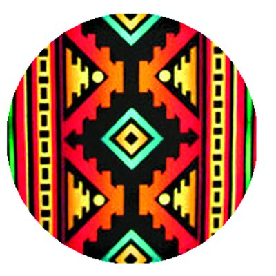 Cabochon - 1'', Assorted Patterns and Colors - Style 7