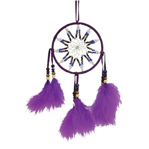 "4.5"" Dream Catcher (with Beaded Star Design)"