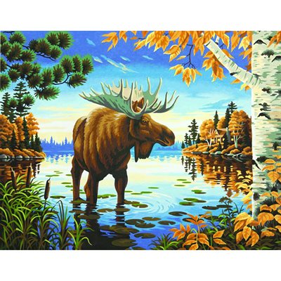Paint By Numbers -Majestic Moose