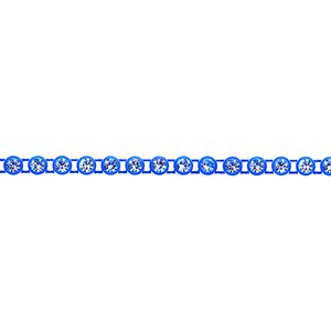 Rhinestone Banding - Royal Blue/Crystal