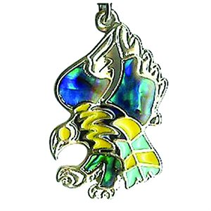 Pendant - Abalone Eagle (Colour Changing)