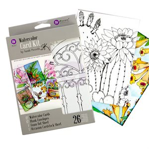 Prima Water Color Card Kit